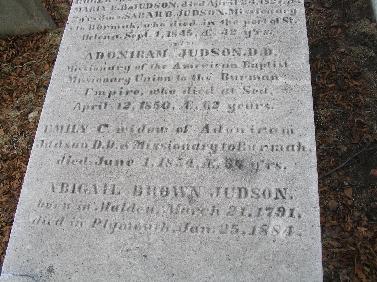 Adoniram Judson Jr Memorial
